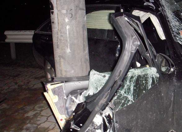 авария мерседес челябинск 2014